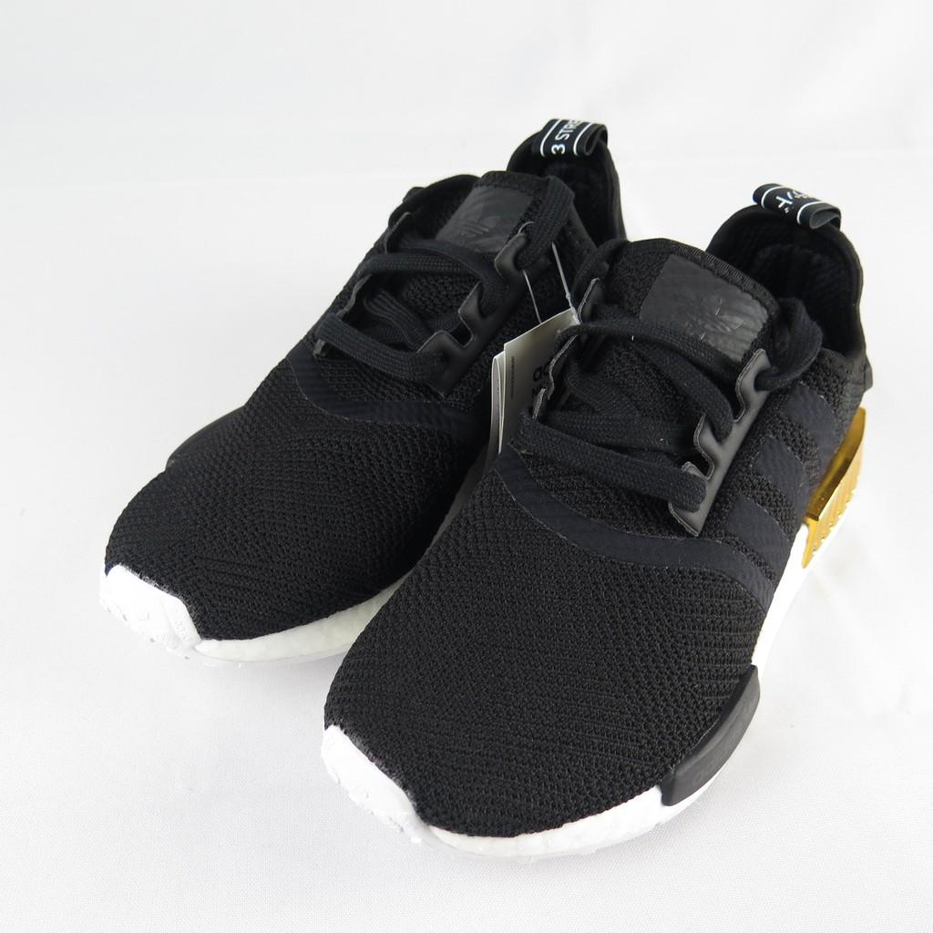 nmd r1 womens black gold