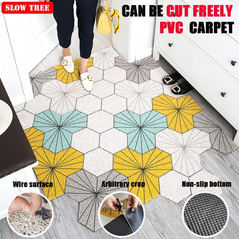 Pvc Carpet Dust Removal Coil Floor Mat