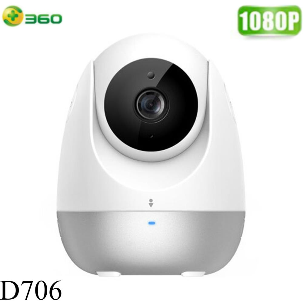 360 Smart D706 Home Wifi Camera 360 Degree Rotation CCTV Surveillance IP  Camera