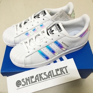 first rate 93420 5e177 Authentic Adidas Superstar Holographic | Shopee Singapore