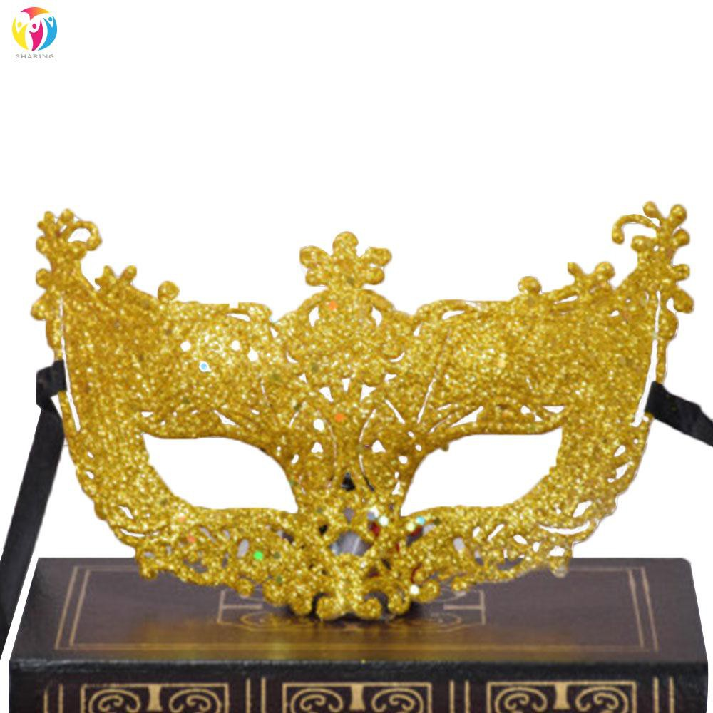 New Venetian Mask Adult Womens Masquerade Ball Costume Party Accessory Fancy