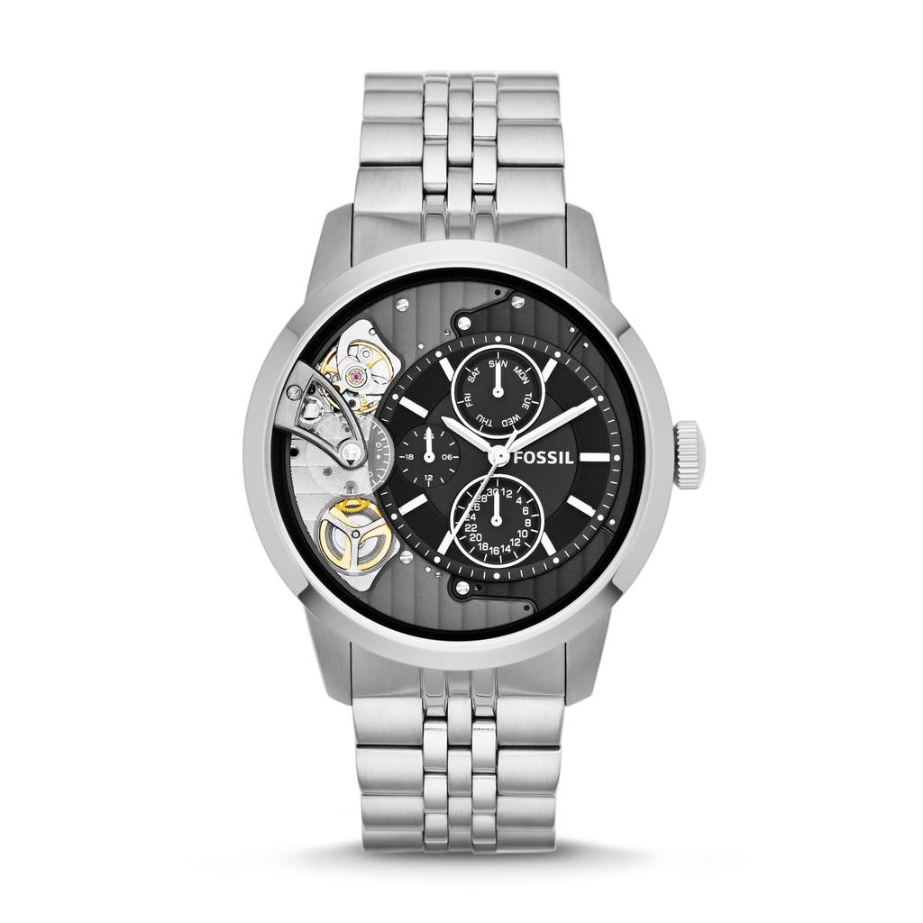 Fossil 44mm Townsman Chronograph Stainless Steel Watch Fs5407 Jam Tangan Neutra Fs5384 Shopee Singapore