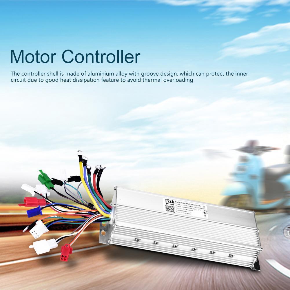 36V/48V 350W Brushless Motor Controller for E-bike Scooter | Shopee