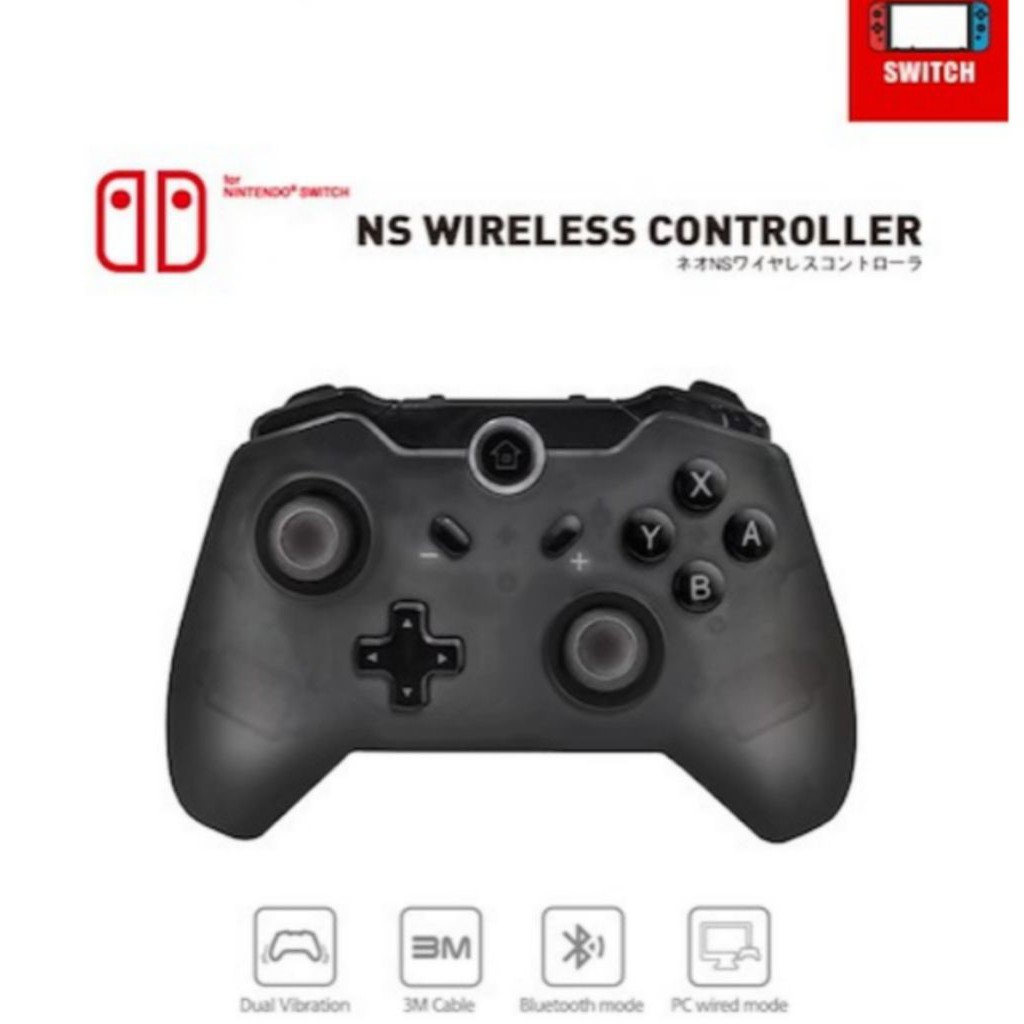 [Local Stocks] Nintendo Switch Pro Wireless Controller Gamepad Free Normal  Mail