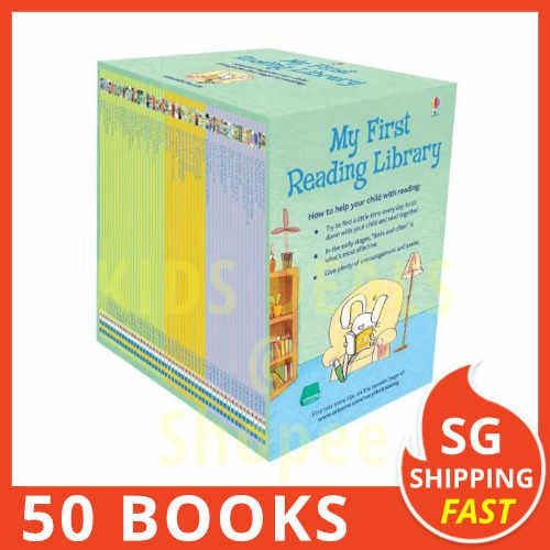 [SG Shipping] Usborne My First Reading Library Box Set (1st First Library)