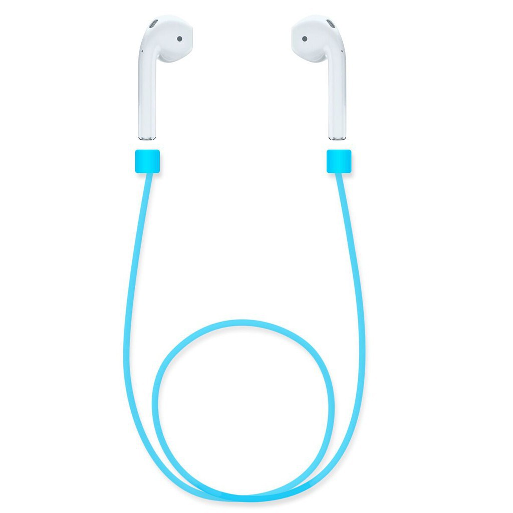 Anti-lost Loop Strap Rope Wire Rope For APPLE Airpods iPhone earphones headsets - intl