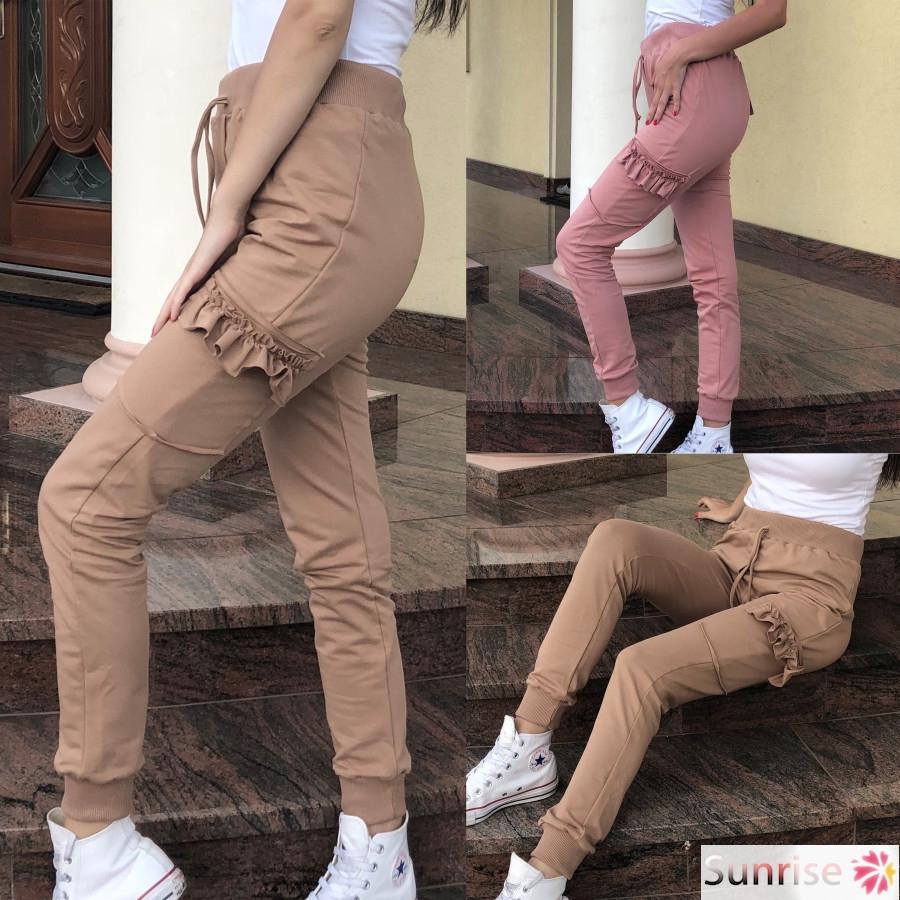 Psunrise Pantalones Women Striped Elastic Waist Loose Cotton And Linen Casual Ankle Length Elastic Pants Women Clothing