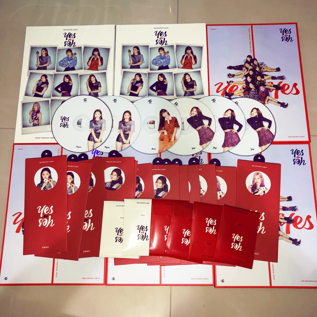 Twice - Yes or Yes unsealed album
