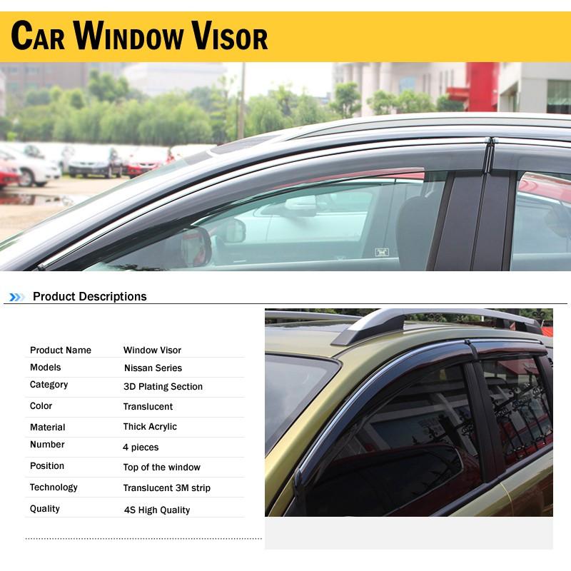 5a700f1ceec 2pcs 42x38cm DIY Car Sun Shades Film Sun Protection Window Cover BlackPVC