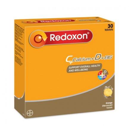 Redoxon EFFERVESCENT VITAMIN C+Calcium+D+B6 3x10s