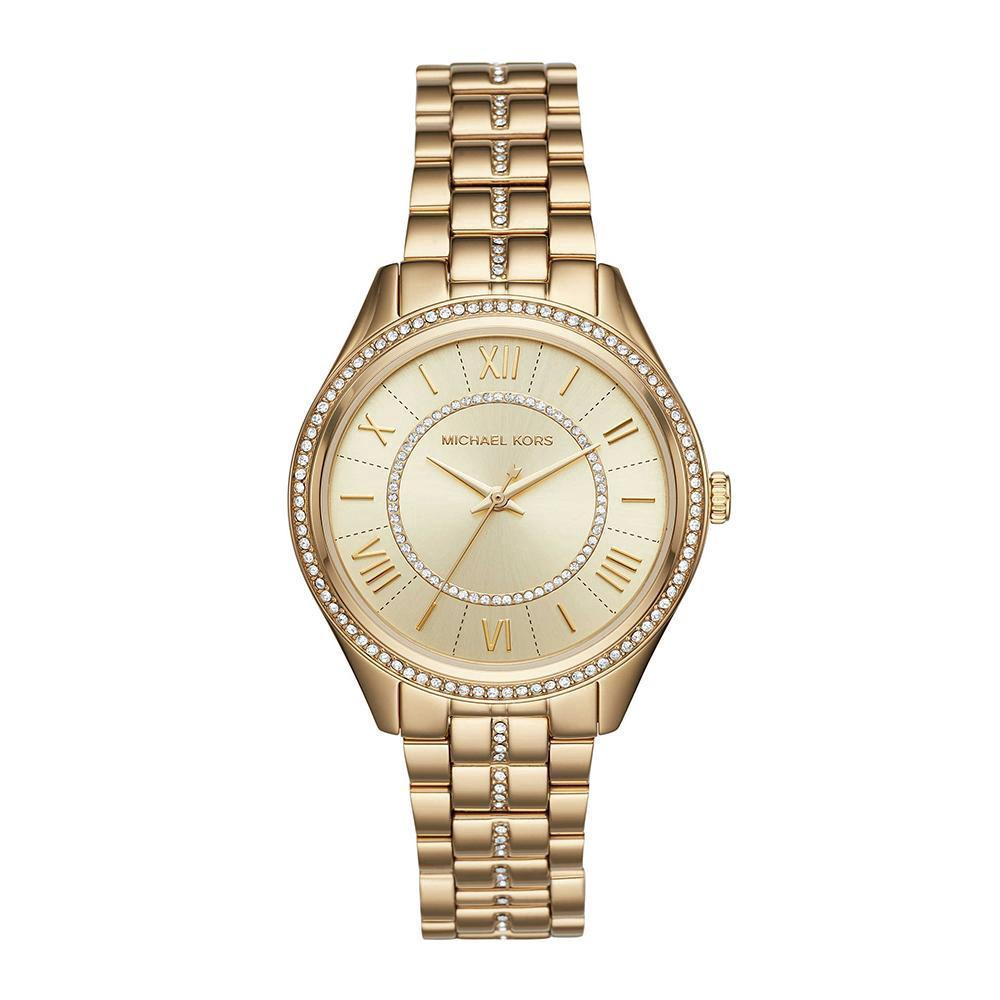faf7c8df0b12a Michael Kors MK3755 Women s Lauryn Silver-Tone Glitz Watch
