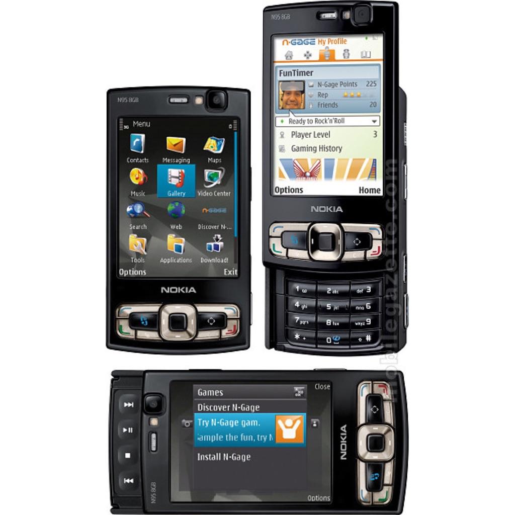 wifi 8gb - Set 3g Nokia Rare Classic N95