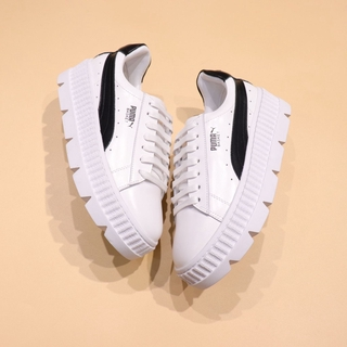online store ea381 d0e16 Rihanna x Puma Fenty Cleated Creeper 'White-Black' | Shopee ...