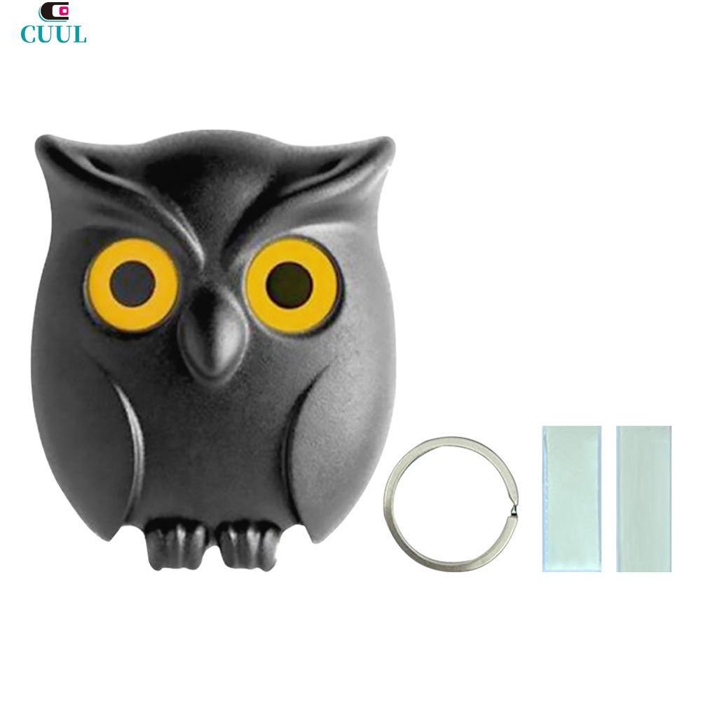 Cod 1pcs Black Night Owl Wall Key Holder Magnets Keep Keychains Key Hanger Hook Hanging Key It Will Open Eyes Cuul Shopee Singapore