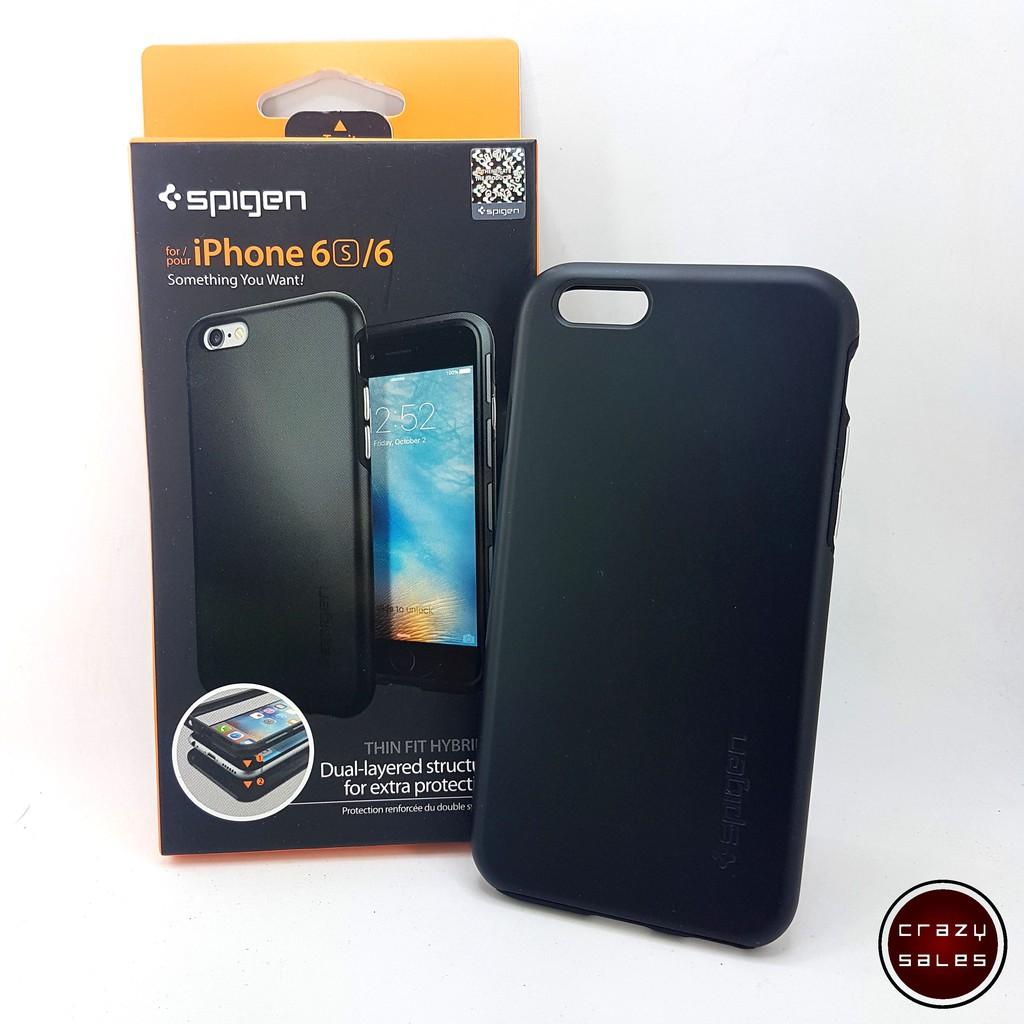 promo code 91919 e28aa iPhone 6 / 6S plus Spigen Thin Fit Hybrid Case Cover