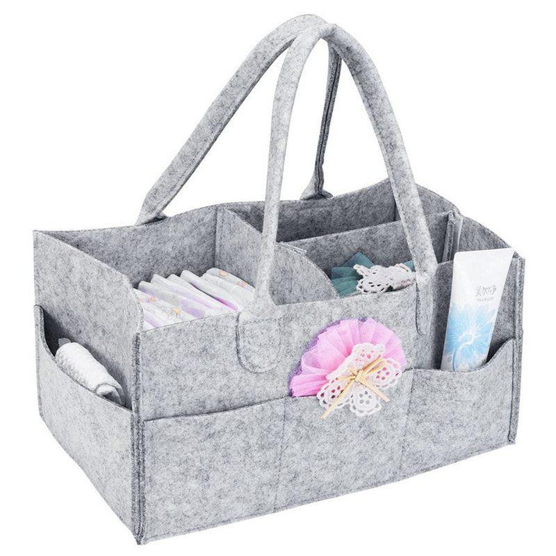 Nursery Storage Bin Baby Diaper Caddy