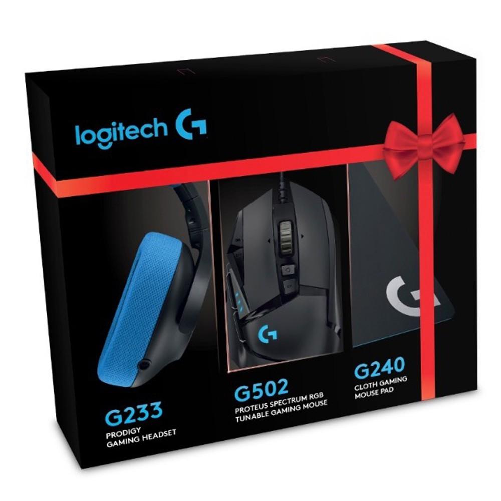 Logitech G Festive Pack Bundle (G502 RGB Mouse / G240 Mouse