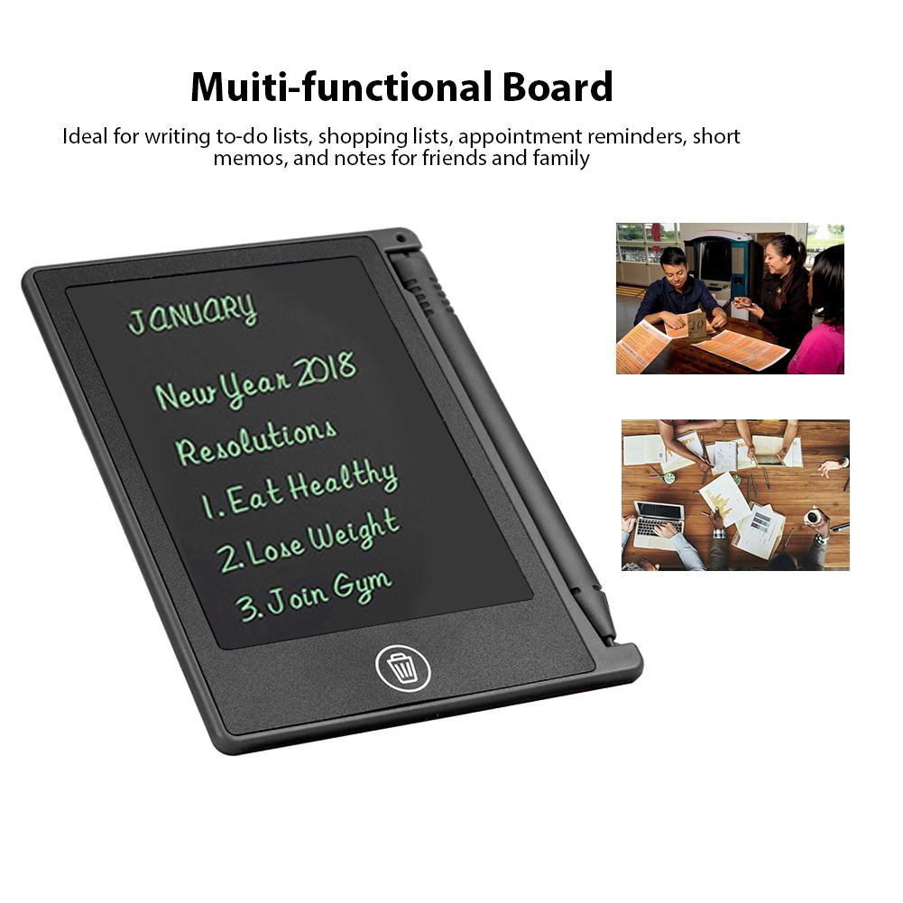 LCD Writing Tablet Pad Boogie Board Style eWriter Boards Stylus Portable Smart