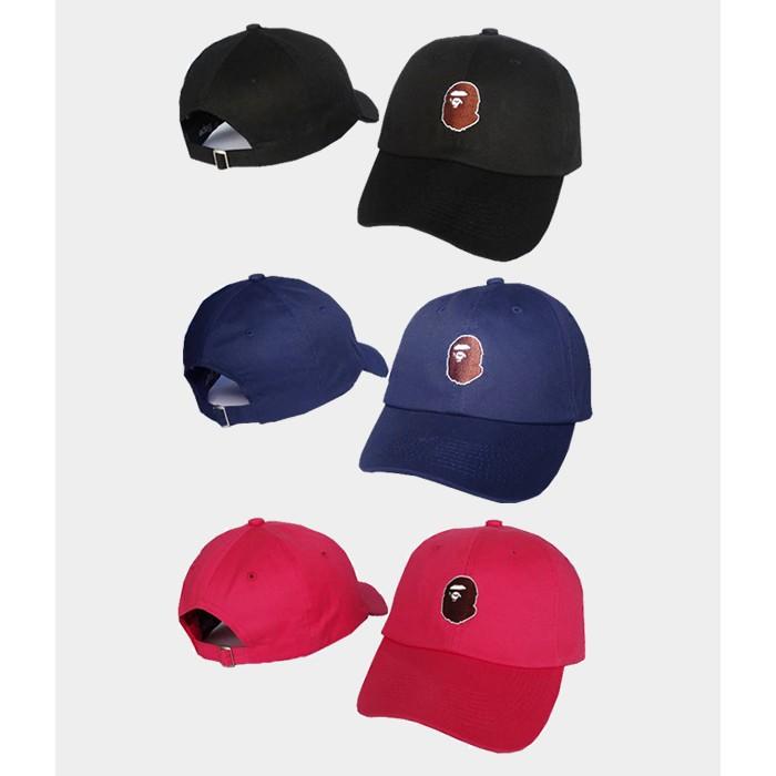 A Bathing Ape Bape Curve Brim Golf Cap Hat Caps Hats with Adjustable  Strapback  134a9d97b55