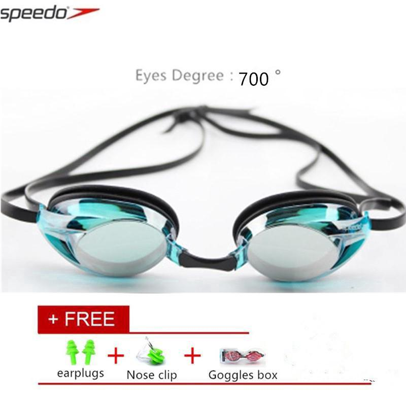 dfc5c70d6c3227 Speedo Goggles Electroplated Goggles Swimming Degree 700 Swim Glasses