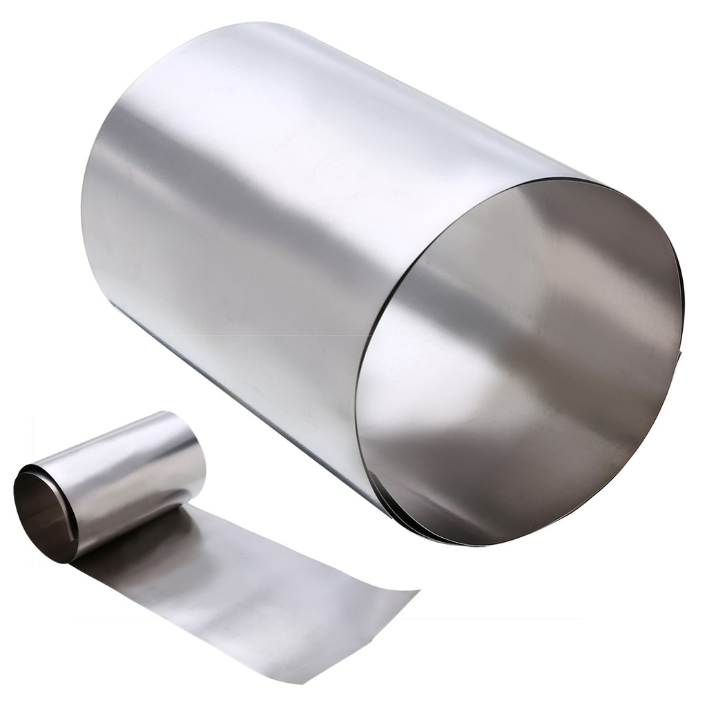1pcs Stainless Steel Fine Plate Sheet Foil 0.1mm x 100mm x1000mm