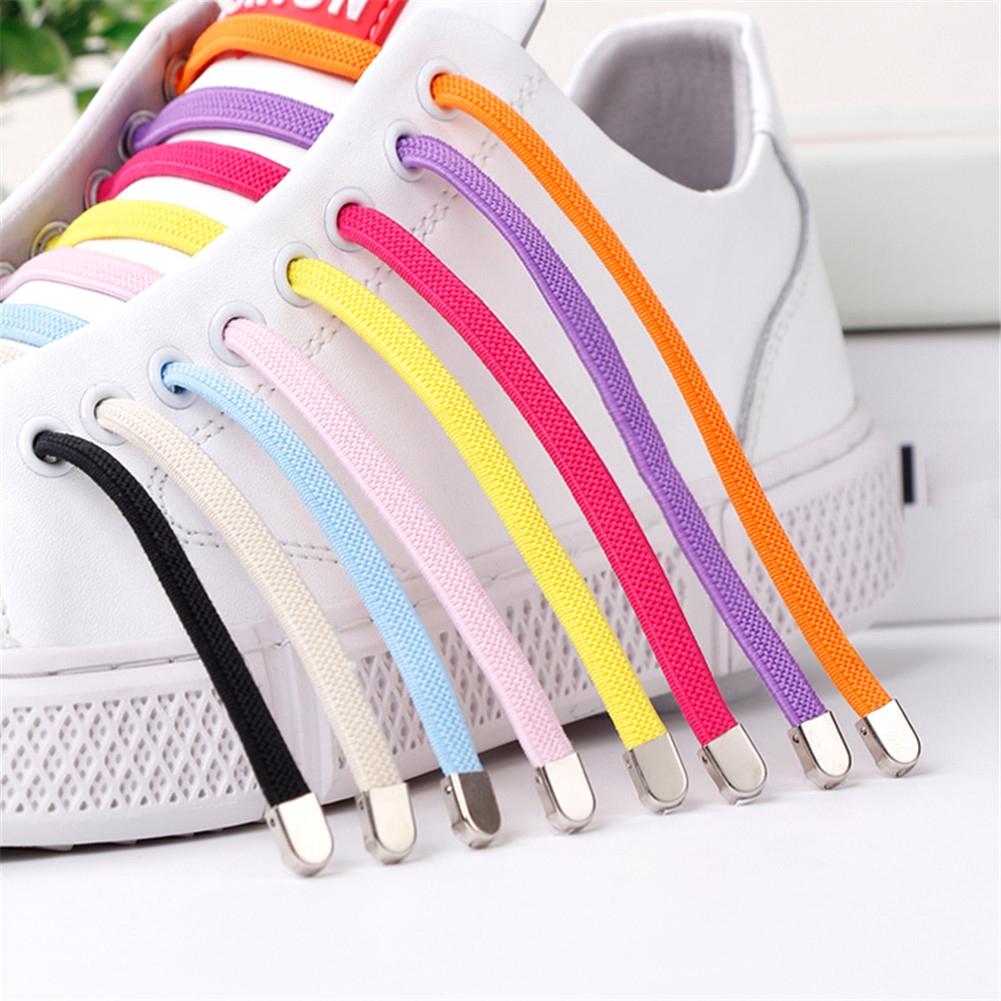 1Pair Shoelaces Elastic Shoes Lace Shoe Laces Sneakers Boots Shoelace Shoe Laces