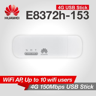 Huawei E8372 Huawei E8372h - 153 Wingle 4G LTE USB Dongle