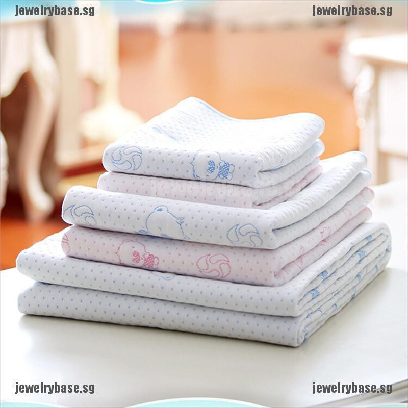 Baby Kids Waterproof Bedding Diapering Changing Mat Washable Breathable Cotton~