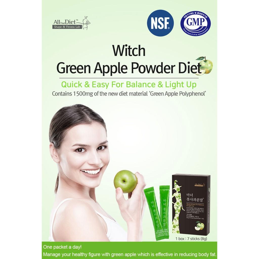 Green Apple Powder Diet / detox dieting / slimming / weight