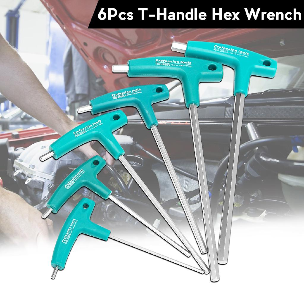4mm T Handle Wrench Hex Keys Kit For Universal Bicycles High Quality