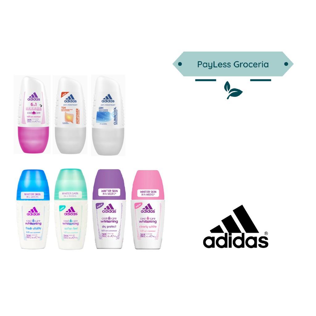 Planta de semillero Lectura cuidadosa Mm  Adidas Women Anti-Perspirant Roll-On For Her 40ml | Shopee Singapore