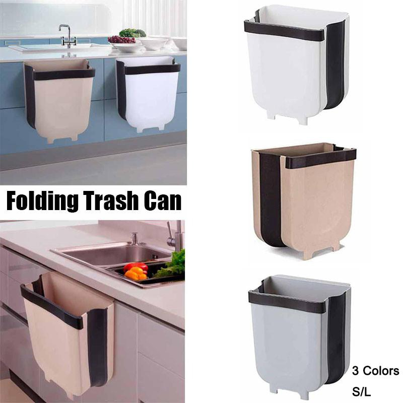 Cabinet Hanging Trash Can Wall Mounted