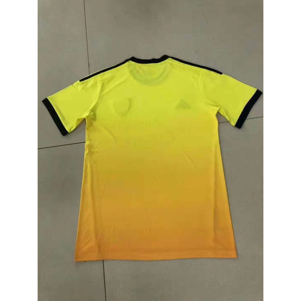 2019 2020 season Arsenal FC away jersey mens o neck yellow Sweatshirt