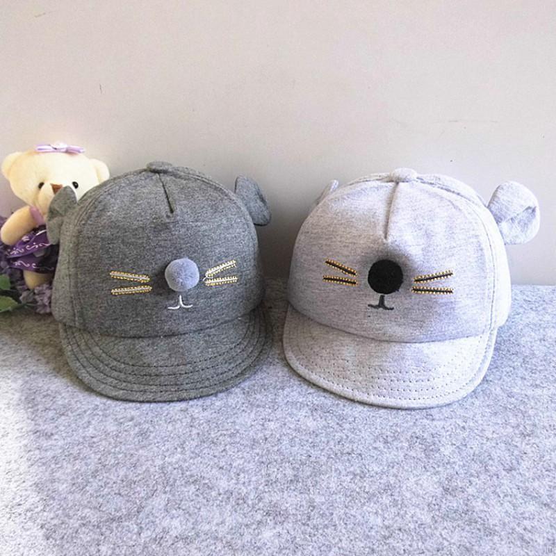703eda335b1 ... Snapback Baseball Cap Kids Newborn Toddler Baby Girl Boy Hat.  2.76.   2.21. 2. No ratings yet. Toddler-Kids-Visor-Baseball-Cat-Little-Ear-Cap-