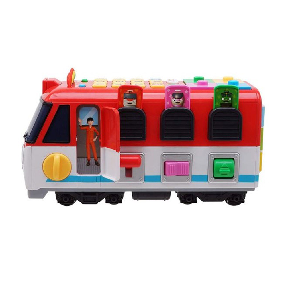 TITIPO Smart Talking Education Train Learning Block Play Toy-LED,Talking,Melody
