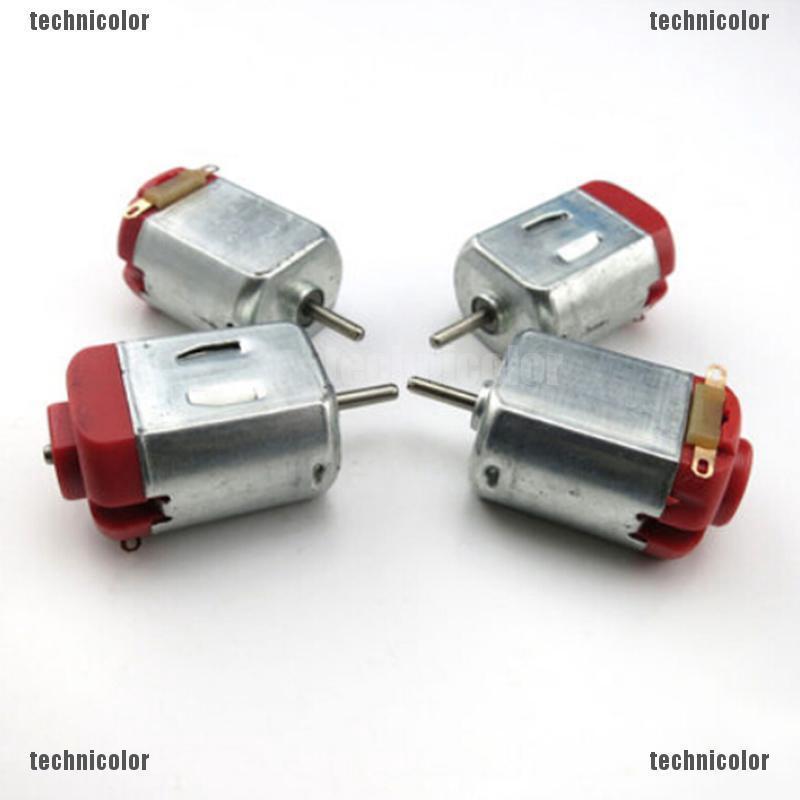 5PCS R130 motor Type 130 Hobby micro motors 3-6V DC 0.35-0.4A 8000 RPM