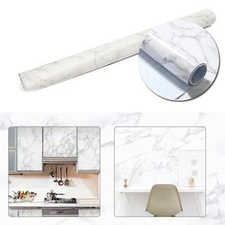 Granite Marble Effect Contact Wallpaper Self Adhesive Peel Stick Rolling Paper