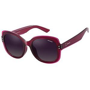 Polaroid PLD 4036 F S Sunglasses, Burgundy Violet Pink  0fb2fa07a78e2