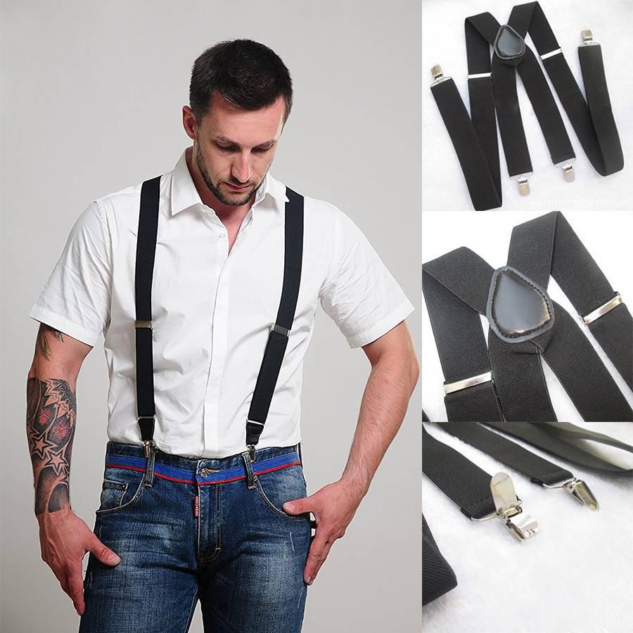 Adjustable Adult Suspender Braces 3Y Shape Clip-on Men's Suspenders Clip |  Shopee Singapore
