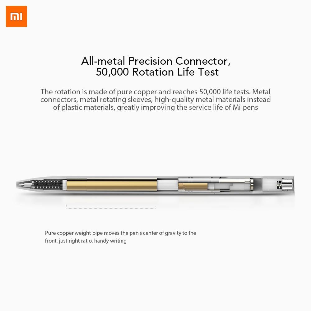 Xiaomi Mijia Pen with 0 5mm Swiss Refill 143mm Rolling