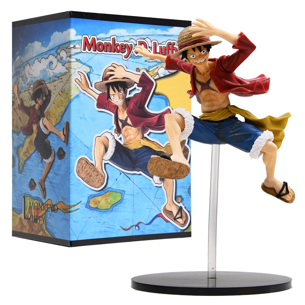 One Piece World Seeker The Gum Gum Bundle Ps4 Monkey D Luffy Figure In Box 20cm