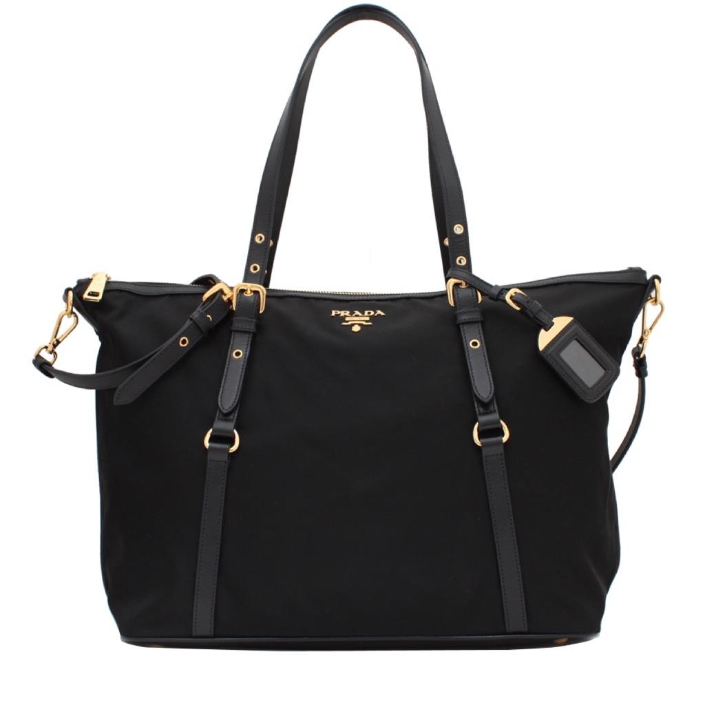 90eb0b68c0ba 100% AUTHENTIC NEW 1BG775 Prada Saffiano Cuir Convertible Tote Bag ...