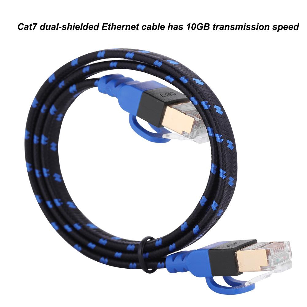 LOT Cat6e RJ45 Ultrathin Flat Ethernet Network LAN Cable Patch Internet 1 to 30M