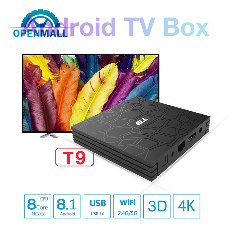 OM TV Box Player 8 1 Performance Definition GPU Wifi High Android