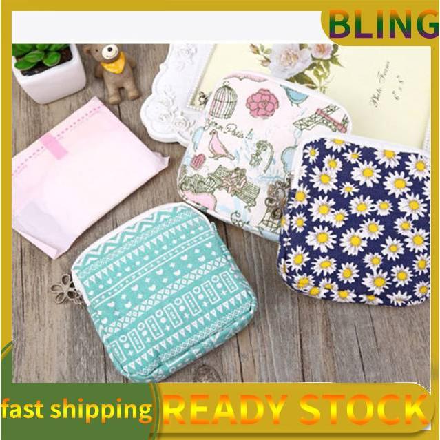 Women Ladies Hot Sanitary Napkin Towel Pads Storage Bag Organizer Purse Bag T