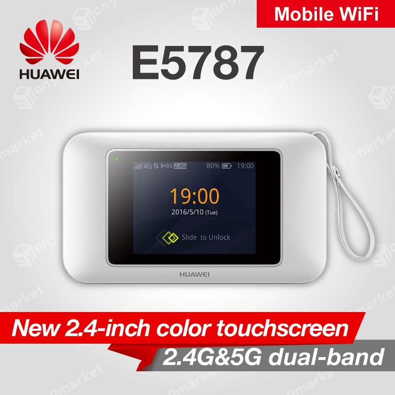 Huawei E5787 Huawei E5787Ph - 67a 4G/LTE Mobile Wifi Touch Screen (White)