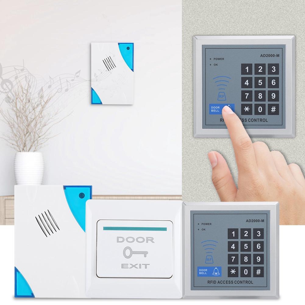 Magnetic Control EM-ID 180kg Card Remove Door Doorbell Password Control  Access