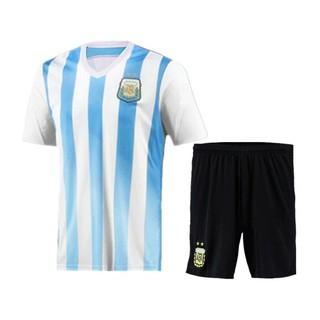 wholesale dealer e01fe 18ba9 2018 World Cup Argentina National Team Messi jersey | Shopee ...