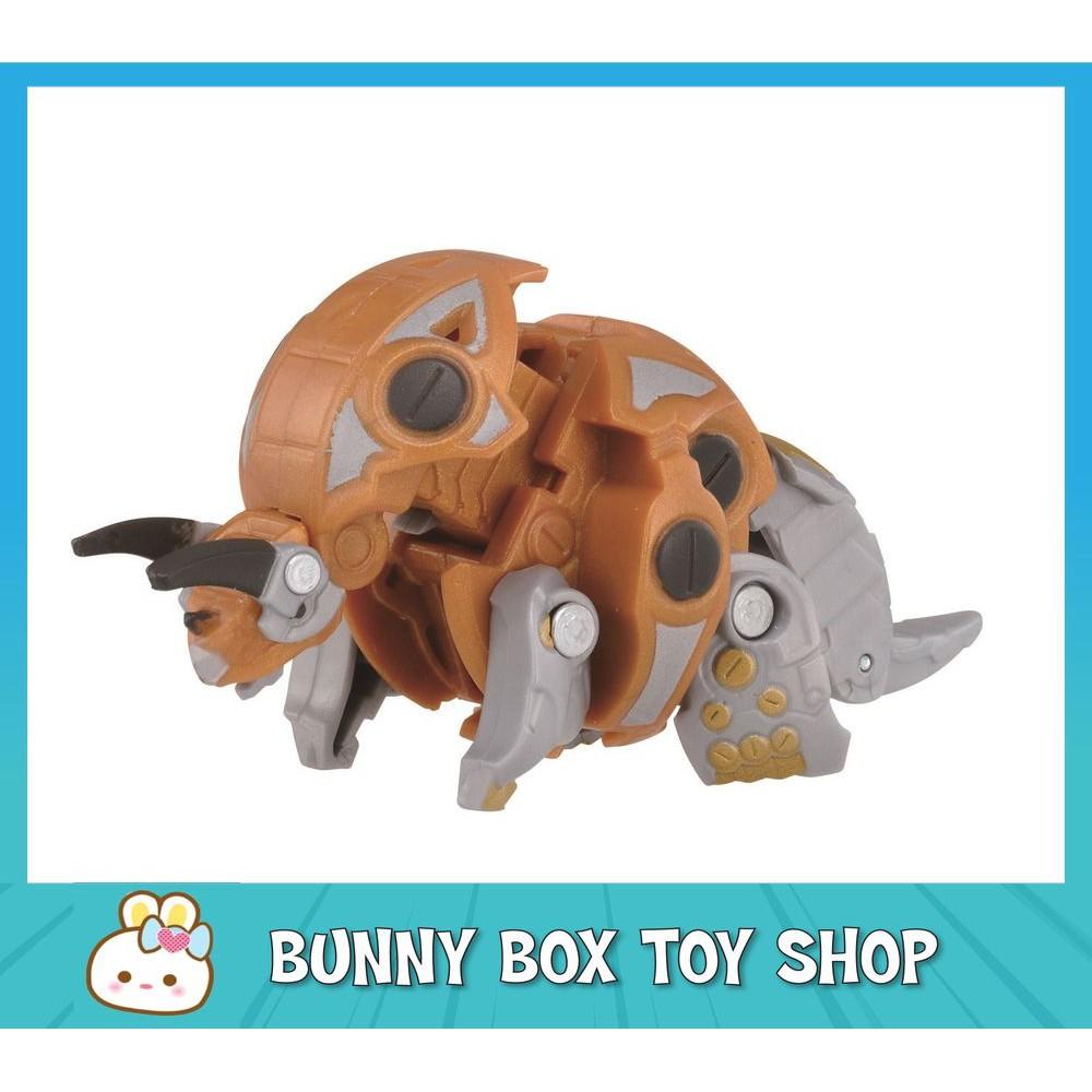 [Genuine] Bakugan Battle Planet 043 Trhyno Gold DX Pack Toys for Kids Boys Girls