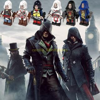 Compatible With Lego Minifigures Game Garage Kits Assassin S Creed